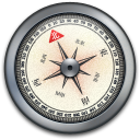 iPhone Compass Silver2