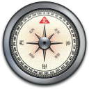 iPhone Compass Silver1